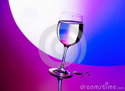 Beautiful wineglass
