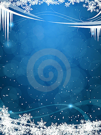 Free Beautiful Winter Frosty Background Stock Photos - 16724603