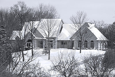 Beautiful Winter Home in a Secluded Country Setting