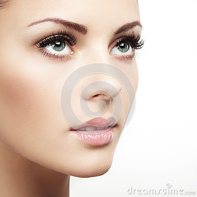 Free Beautiful Woman Face. Perfect Makeup Stock Photos - 30333953
