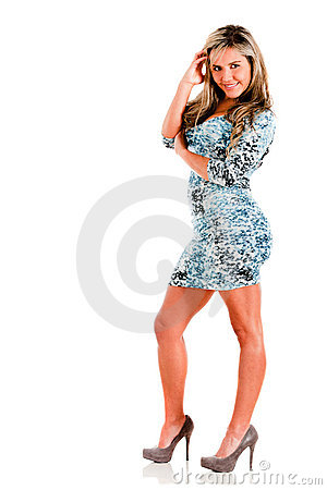 Beautiful Woman In High-heels Stock Photos - Image: 21718813