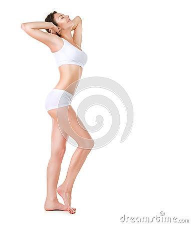 Free Beautiful Woman. Perfect Body Stock Image - 25269141