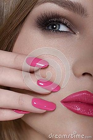 Tell beautiful mature women long fingernails