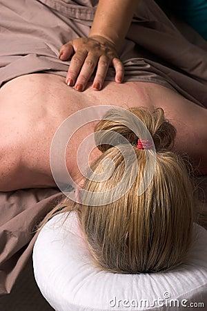 Beautiful Woman Receiving Massage 49