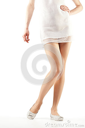 Free Beautiful Woman S Legs Stock Photo - 25138800