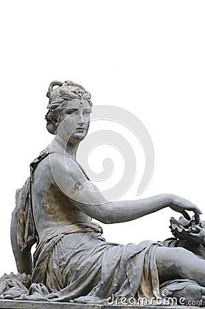 Free Beautiful Woman Sculpture Royalty Free Stock Photos - 37622968