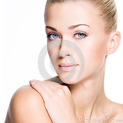 Free Beautiful Woman With Beauty Face - Isolated Stock Photography - 34111152