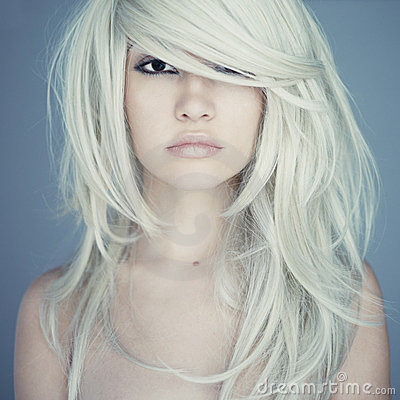 Free Beautiful Woman With Magnificent Hair Stock Photo - 23457910