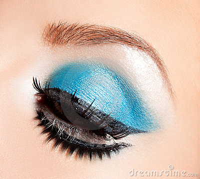 Beautiful womanish eye
