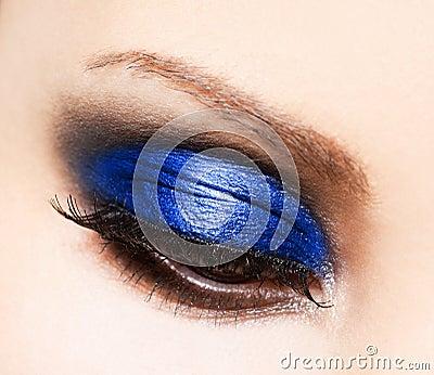 Beautiful womanish eye