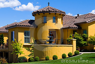 Beautiful yellow villa