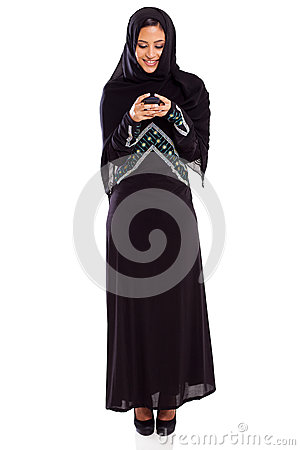 Arabian woman email