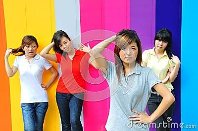 Beautiful Young Asian Teenage Girls