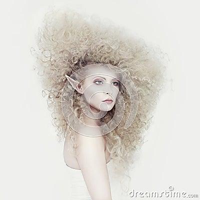 Free Beautiful Young Girl Elf Stock Image - 22945661