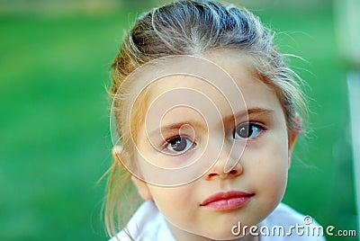Beautiful young kid girl jana