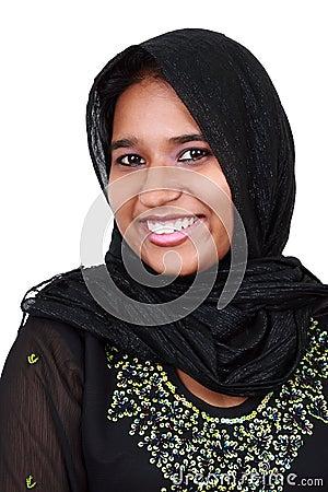 Beautiful young Pakistani girl.