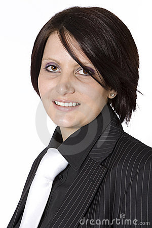 Free Beautiful Young Professional Woman With Black Suit Stock Photo - 11626580