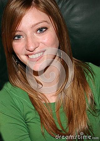 Beautiful Young Teen Girl Portrait