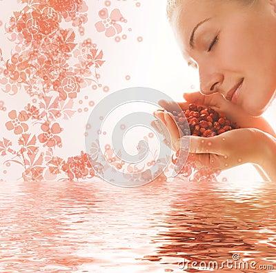 Free Beautiful Young Woman Stock Image - 2914441