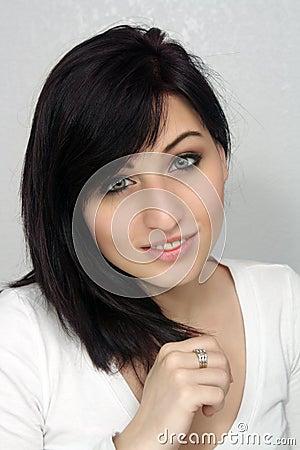 Beautiful Young Woman, Headshot (2)