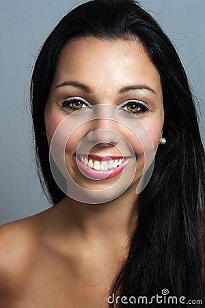 Beautiful Young Woman, Headshot