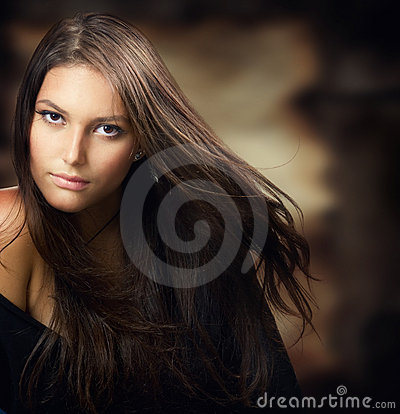 Free Beautiful Young Woman Portrait Stock Image - 15966601