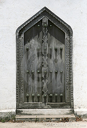 Beautiful zanzibar door