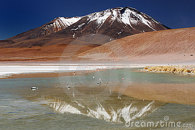 Beautifull Andes in South America