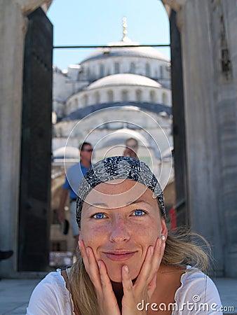 Free Beautifull Girl In Istanbul Stock Image - 1707051