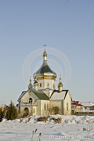 Beautifull little orthodox church