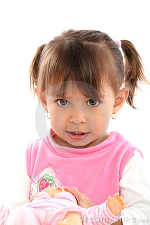 Free Beautifull Toddler Blonde Whit Wrist Stock Photos - 11827513