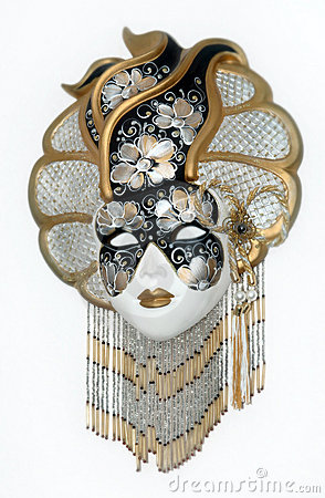 Free Beautifull Venetian Mask Royalty Free Stock Image - 10703666