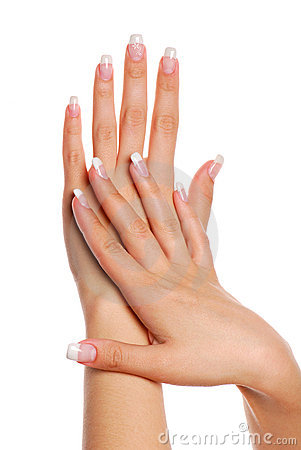 Free Beautifull Woman Hand. Stock Image - 2448331