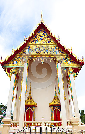 Beautifully Buddhism Temple In Thailand Royalty Free Stock Image - Image: 25768766