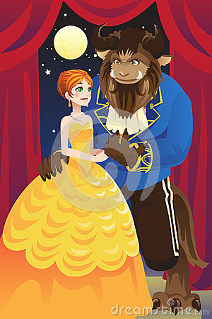 Free Beauty And The Beast Stock Photos - 27019183