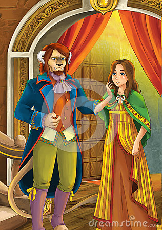 Free Beauty And The Beast - Prince Or Princess - Castles - Knights And Fairies - Illustration For The Children Stock Images - 31914864