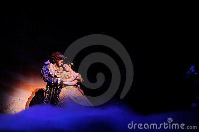 The Beauty and the Beast Editorial Photography