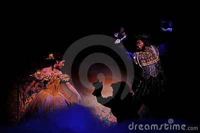 The Beauty and the Beast Editorial Image