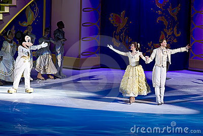 Beauty and the Beast Disney on Ice Editorial Image