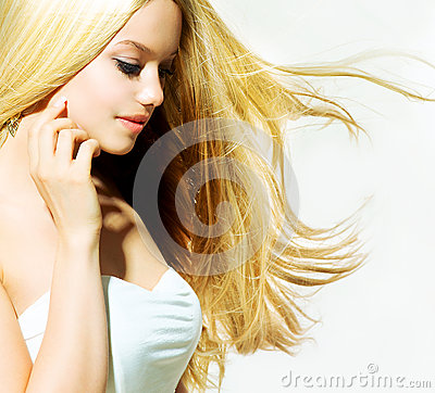 Beauty Blond Girl