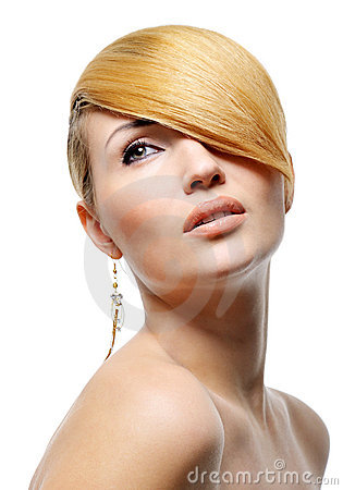 Free Beauty Blond Style Hairstyle Royalty Free Stock Photography - 8889597