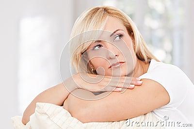 Beauty, blondie woman
