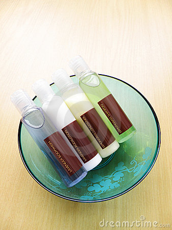 Beauty bodycare bottles