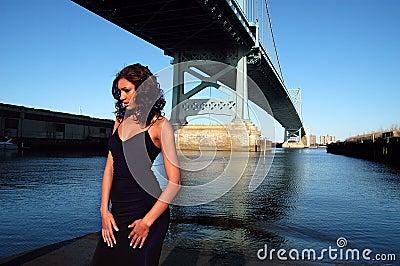 Beauty by the bridge