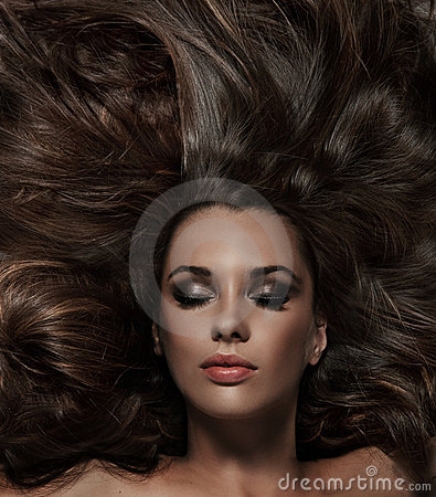 Free Beauty Brunette Stock Image - 16541601