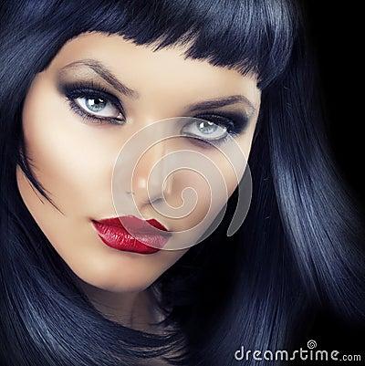 Beauty Brunette Portrait