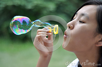 Beauty and bubble