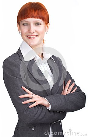 Beauty business woman