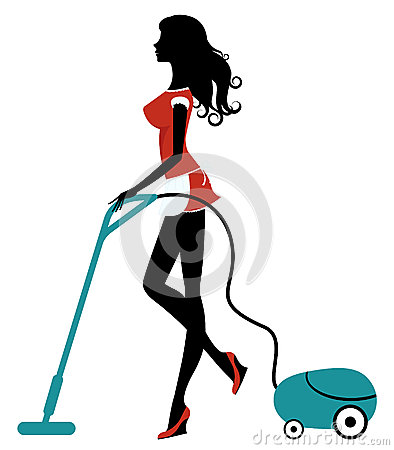 Beauty cleaning with vacuum cleaner