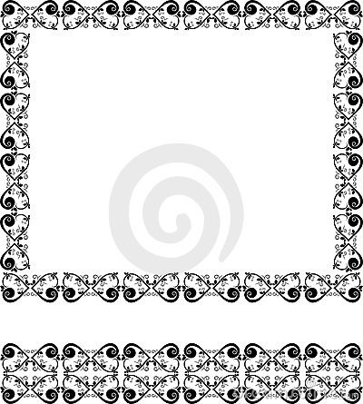 Beauty design frame and border